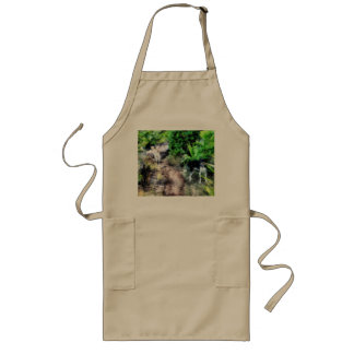 Dogs on path long apron