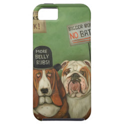 Case-Mate Vibe iPhone 5 Case with Basset Hound Phone Cases design