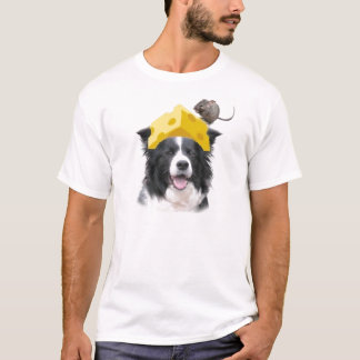 Dogs~Original Ditzy Tee~Border Collie~Halloween Playera