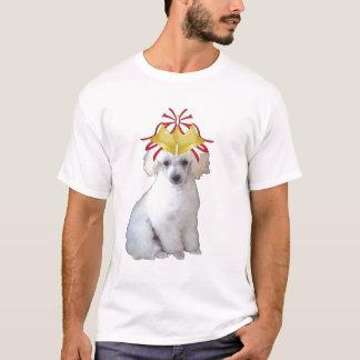 Dogs~Original Ditzy Tee~Poodle~Christmas Playera