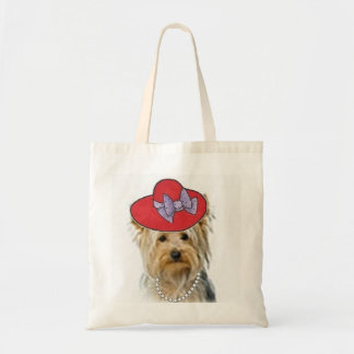 Dogs Original Ditzy Tote Yorkie Bolsas De Mano