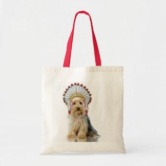 Dogs Original Ditzy Tote Yorkie Bolsa De Mano