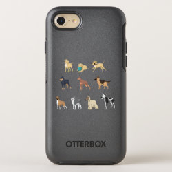 OtterBox Apple iPhone 7 Symmetry Case with Mastiff Phone Cases design