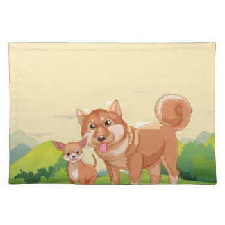 Dogs Placemat