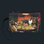 """Dogs playing poker - funny dogs -dog art change purse<br><div class=""""desc"""">casino , &quot;dog breeds&quot; , &quot;labrador dog&quot; , &quot;pet dog &quot;, &quot;pet art &quot; , &quot;dog painting&quot; , &quot;dog pet &quot;, &quot;painted dogs&quot; , &quot;poker dogs&quot; , &quot;dog poker&quot;, </div>"""