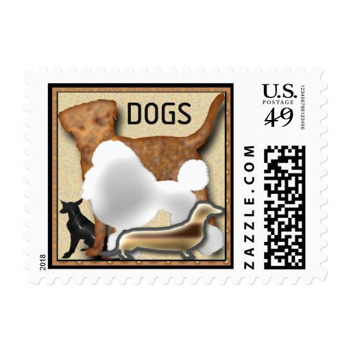 DOGS Postage Stamps