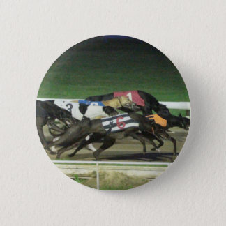 Dogs racing greyhound sporting image button