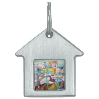 Dogs Restaurant Pet ID Tags