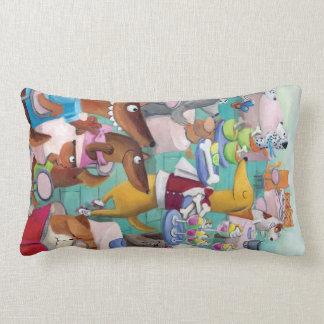 Dogs Restaurant Pillows