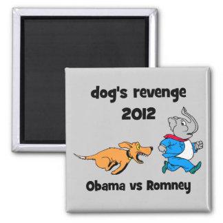 dog's revenge 2012 2 inch square magnet