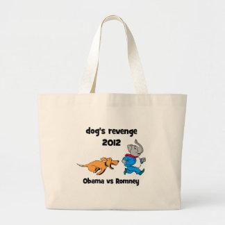 dog's revenge 2012 jumbo tote bag