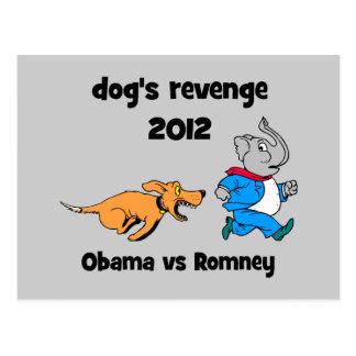 dog's revenge 2012 postcards