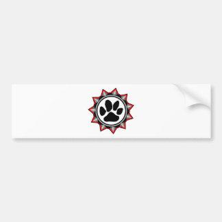 Dogs_Rule_logo Car Bumper Sticker