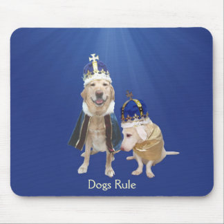 Dogs Rule Mouse Pad