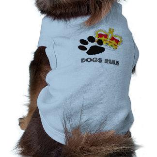 Dogs Rule Pet Tee