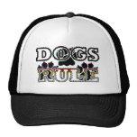 DOGS RULE TRUCKER HAT