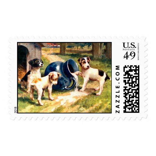 Dogs Stamp