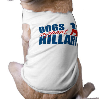 DOGS SUPPORT HILLARY TEE