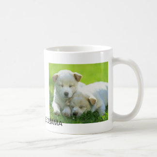 DOGS SUPPORT OBAMA CLASSIC WHITE COFFEE MUG
