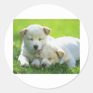DOGS SUPPORT OBAMA STICKER