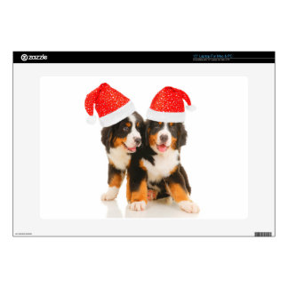 Dogs Wish A Merry Crhistmas Decals For Laptops
