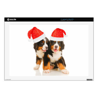 Dogs Wish A Merry Crhistmas Skin For Laptop