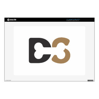 DogShare Bone Logo Skin For Laptop