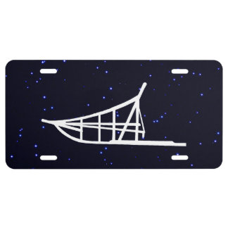 Dogsled License Plate