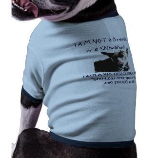 DogT I am not Pet T-shirt