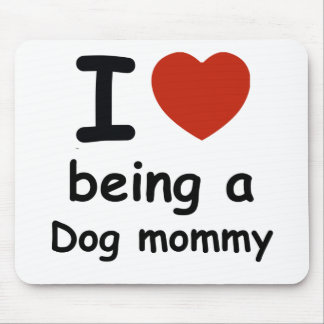 dogt mommy design mouse pad