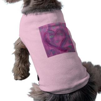 DogT-Shirt -Grateful Heart Doggie Tee