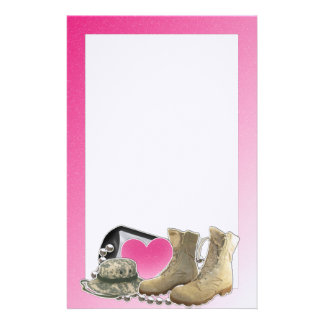 Dogtag and Boots Stationery