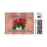 Dogtags & Roses Stamps