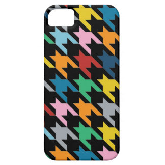 Dogtooth Black iPhone 5 Cover