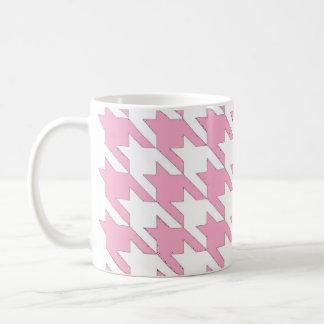 Dogtooth Pink Classic White Coffee Mug