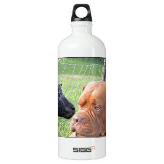 Dogue de Bordeaux Aluminum Water Bottle