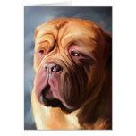 Dogue de Bordeaux Art - Stormy Dogue Cards