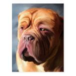 Dogue de Bordeaux Art - Stormy Dogue Postcards