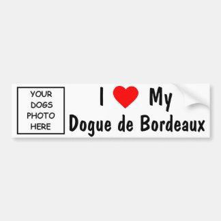 Dogue de Bordeaux Bumper Sticker