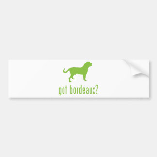 Dogue de Bordeaux Car Bumper Sticker