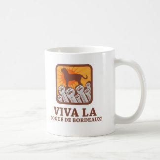 Dogue de Bordeaux Classic White Coffee Mug