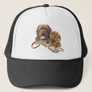Dogue De Bordeaux Double Trouble Trucker Hat