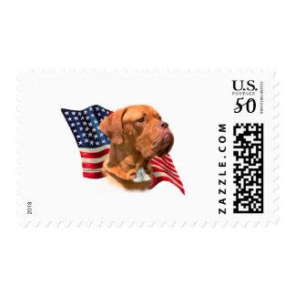 Dogue de Bordeaux Flag Postage