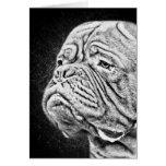Dogue De Bordeaux - French Mastiff Card