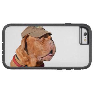Dogue de Bordeaux, French Mastiff dog in hat Tough Xtreme iPhone 6 Case