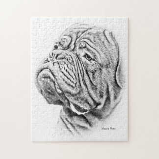 Dogue De Bordeaux - French Mastiff Jigsaw Puzzle
