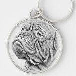 Dogue De Bordeaux - French Mastiff Keychains