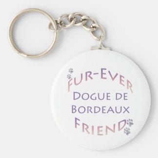 Dogue de Bordeaux Furever Keychain