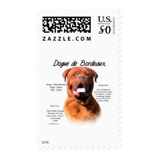 Dogue de Bordeaux History Design Postage