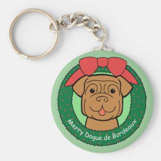 Dogue de Bordeaux Keychain